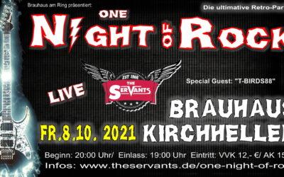 08.10.2021 – One Night of Rock